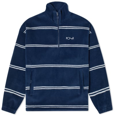 Polar Skate Co. Stripe Fleece Pullover 2.0