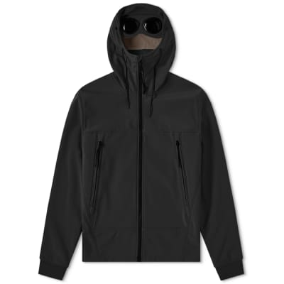 3c5c249d8b C.P. Company Soft Shell Goggle Jacket ...