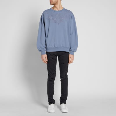 Dries Van Noten Huxton Embroidered Yoke Sweat