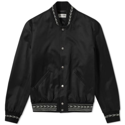 Saint Laurent Ikat Teddy Jacket