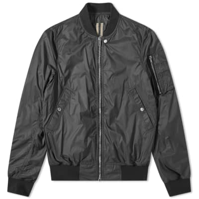 Rick Owens DRKSHDW Nylon Flight Bomber Jacket