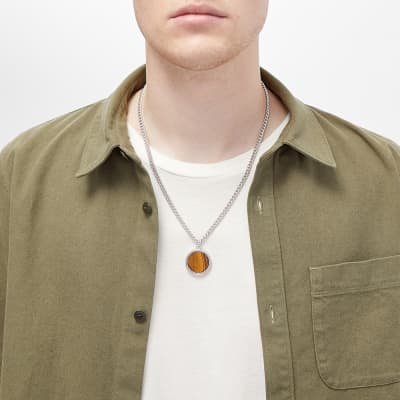 A.P.C. Pierre Tiger Eye Necklace