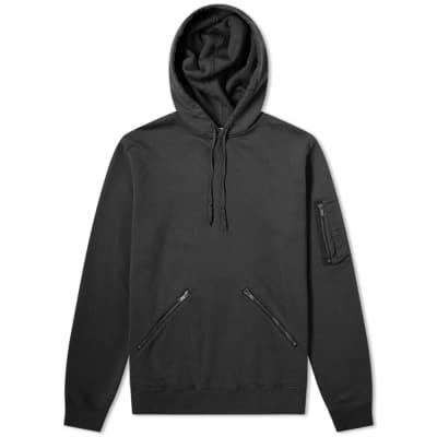 Saint Laurent Zip Detail Hoody