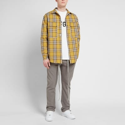 Fear of God Plaid Shirt Jacket