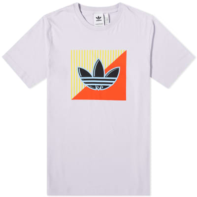 Adidas Diagonal Logo Tee