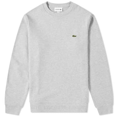 Lacoste Embossed Logo Hem Sweat