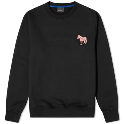 Paul Smith Embroidered Fluo Zebra Sweat