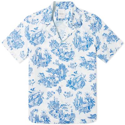 6ef142bc1986 Wood Wood Brandon Printed Vacation Shirt ...