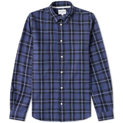 Norse Projects Hans Classic Check Shirt