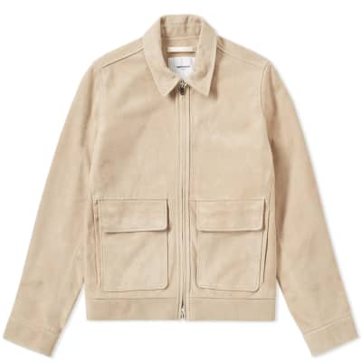 Norse Projects Tyge Suede Jacket