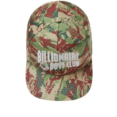 Lizard Camo Snapback Cap - Green Billionaire Boys Club
