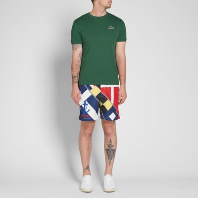 Polo Ralph Lauren CP93 Sailing Flag Print Swim Short