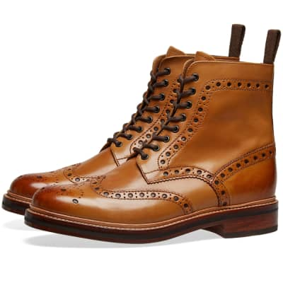 huge selection of 36987 3bfbf Grenson Fred Brogue Boot ...