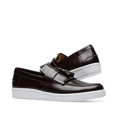 Fred Perry x George Cox Leather Tassel Loafer