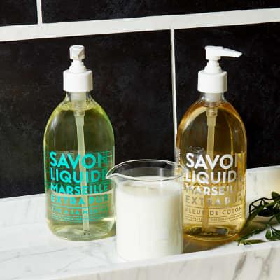 Compagnie de Provence Liquid Marseille Cotton Flower Soap