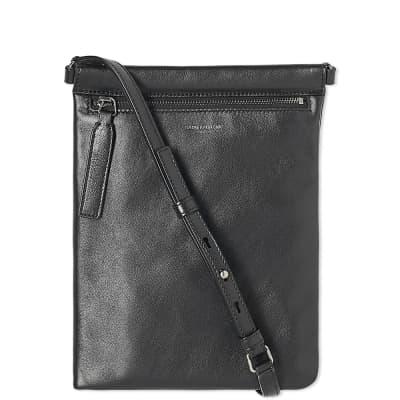 Saint Laurent Leather Zip Shoulder Bag