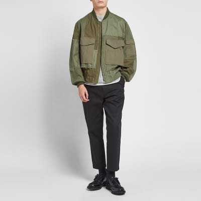 Comme des Garcons Homme Patchwork MA-1 Jacket