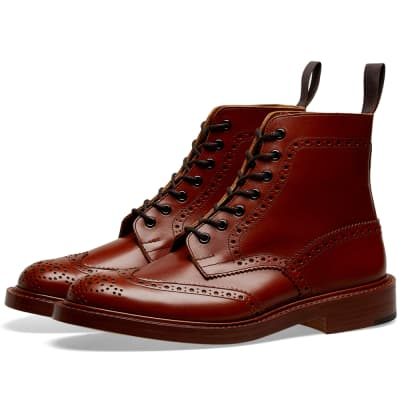Tricker's Stow Brogue Derby Boot