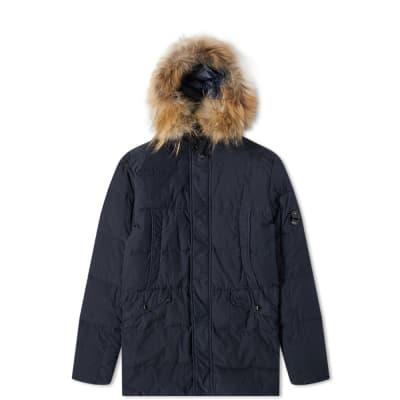 C.P. Company Undersixteen Fur Trimmed Down Parka