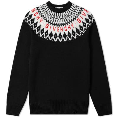 Valentino VLTN Nylon Shoulder bag Black. £715. Givenchy Merino Fair Isle  Logo Knit ... 00835a3d98