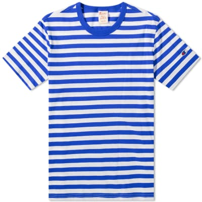 6cad41a0c979 Champion Reverse Weave Classic Stripe Tee ...