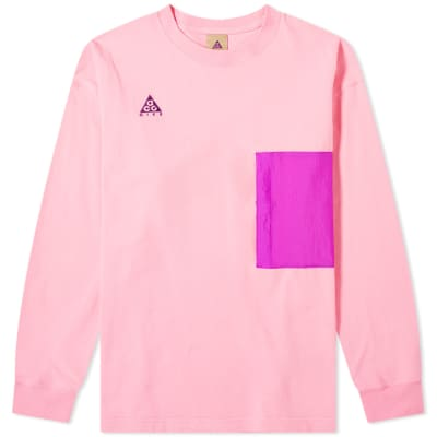 01f3bcbb9635c Nike ACG Long Sleeve Pocket Tee ...