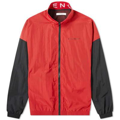 6f1e345e038f7 Givenchy Collar Logo Track Jacket ...