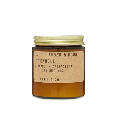 P.F. Candle Co No.11 Amber & Moss Mini Soy Candle