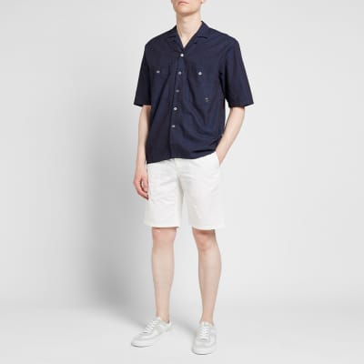 Études Short Sleeve Valley Denim Shirt