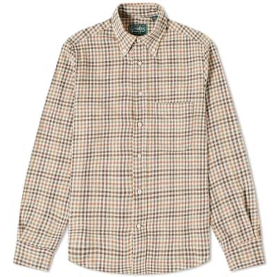 Gitman Vintage Cotton Gingham Check Shirt