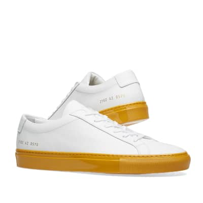 Common Projects Achilles Low Coloured Shiny Sole