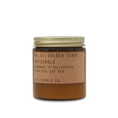 P.F. Candle Co No.21 Golden Coast Mini Soy Candle