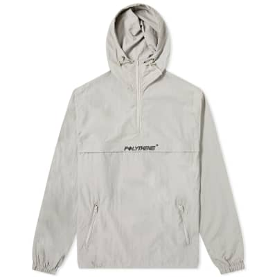 Polythene Optics Half Zip Windbreaker