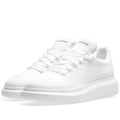 59b3e2b66716d Alexander McQueen Knitted Wedge Sole Sneaker ...