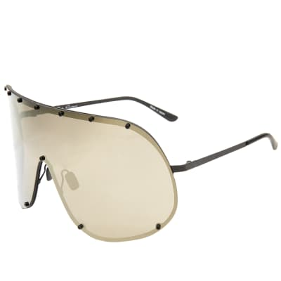Rick Owens Shield Sunglasses
