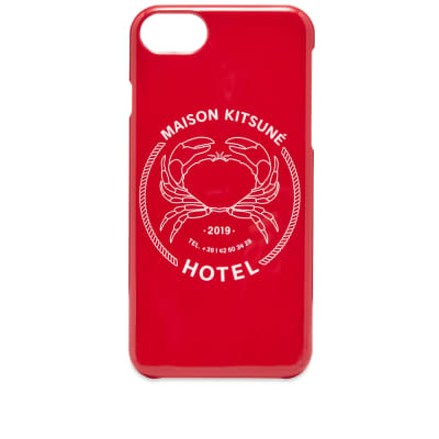 739838ab6d84 Maison Kitsuné Hotel Maison Kitsuné iPhone 8 Case ...