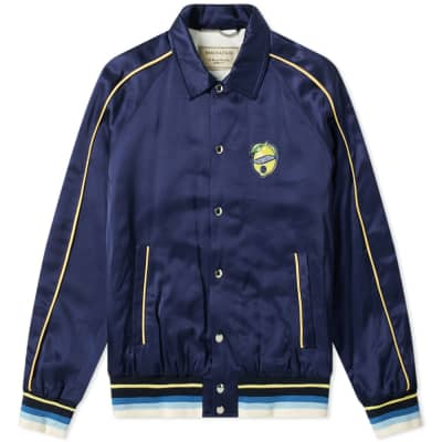e94e0f117ee6 Maison Kitsuné Souvenir Jacket ...