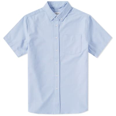 Saturdays NYC Short Sleeve Esquina Oxford Shirt