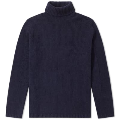 Folk Interference Roll Neck Knit