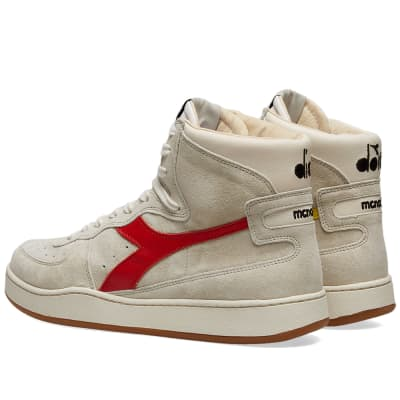herren Diadora TOKYO Sneaker low whiteburnt olive green