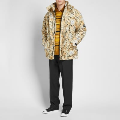 Napa by Martine Rose Leopard Print Parka