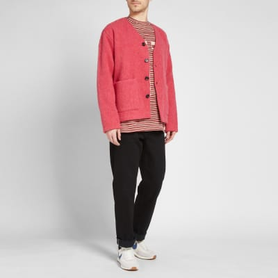 Napa by Martine Rose Long Sleeve Multi Stripe Tee