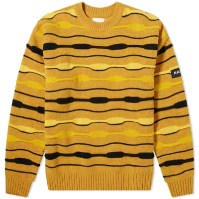 Napa by Martine Rose Stripe Crew Knit