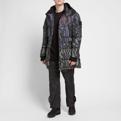 Stone Island Shadow Project DPM Map Bonded Down Coat