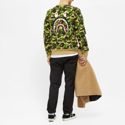 A Bathing Ape ABC Shark Crew Sweat