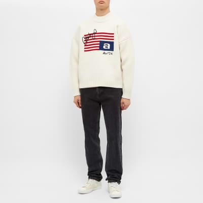 Alexander Wang Flag Crew Knit