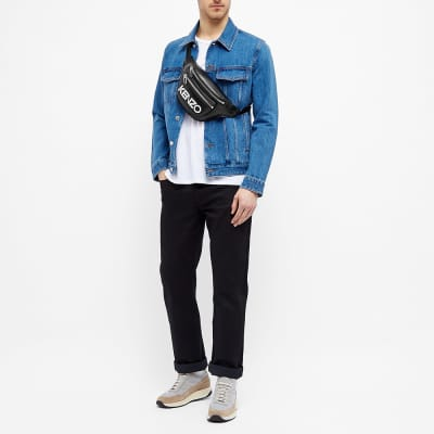 Kenzo Leather Log Waist Bag