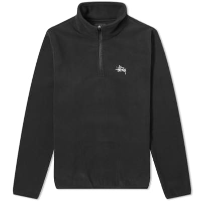 Stussy Basic Mock Neck Polar Fleece