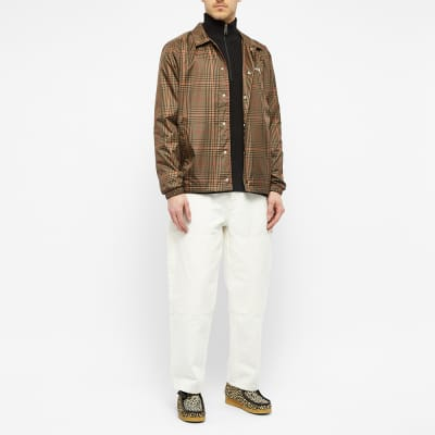 Stussy Plaid Coach Jacket