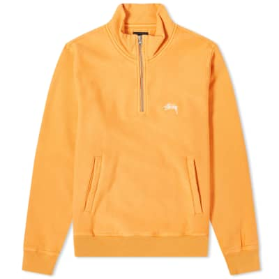Stussy Stock Fleece Mock Sweat